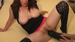 Slut dildo extreme colossal fucking amateur bizarre pussy