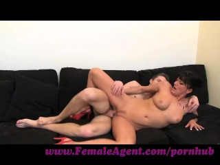 FemaleAgent. Stud has anaconda cock