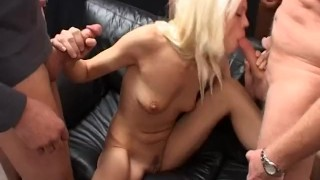 Two babes taking group blowjob and tons of wet jizz Manson stein