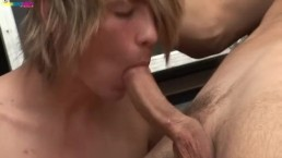 Hot Twinks Simon and Martin sucking each others cock