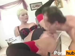 Strict auntie deals with naughty nephew spanking otk scolding Mature Aunt Isobel Barnsley Spanking