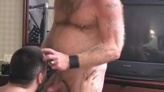 Booty bear call beard licking