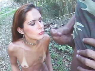 Young Ukrainian Girls Nude Ukrainian girl naked in the backyard