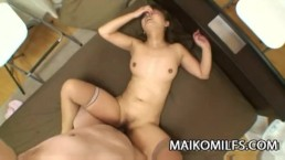 Japan MILF Hiromi Shibutani wants her pussy teased with sex toys