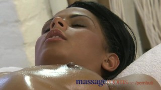 Massage Rooms Black girl orgasms after erotic session Ebony talk