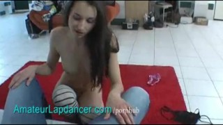 Student natural lapdances czech college amateur tight