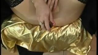 Sexy Blonde Plays and Sucks porno