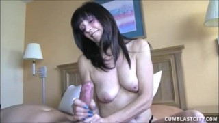 Topless Milf Causes A Cum Explosion