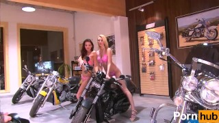 2 Small tittied teens at a bike-show - Julia Reaves Blondes pornhub