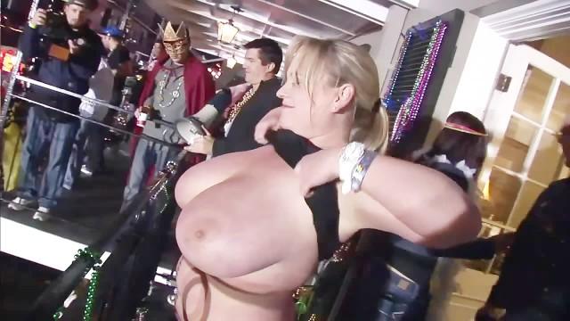 Flashing big tits mardi gras Mardi Gras 2011 Scene 10 Pornhub Com