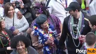 MARDI GRAS COEDS - Scene 10 Dancing sclip