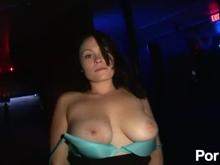 woman giving blow job on video