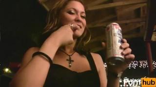 Party wild girls scene  slim flirt