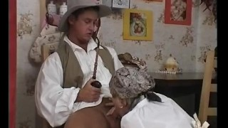 Chubby Granny Gets Her Hairy Pussy Fucked Style cowgirl