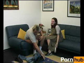 Babe gets glazed during interview