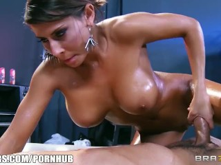 Preview 1 of Madison Ivy gives her customer a passionate sensual massage