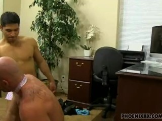 New guy got his revenge on his gay boss