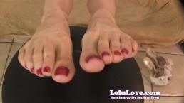 Lelu Love-Boss Secretary Foot Fetish Fuck