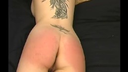 Samara Tied to the Bed Spanking - Scene 1