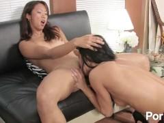 Asian girls first lesbian experience