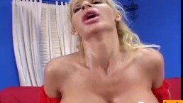 Milf has some massive tits
