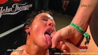 The hottest German chicks sucking cocks and getting fucked