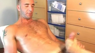 French guy geting wanked in spite of him !