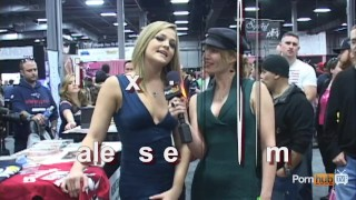 PornhubTV Alexis Texas Interview at eXXXotica 2012 porno