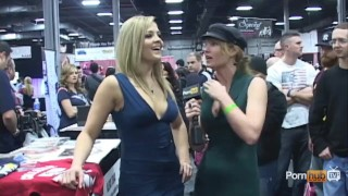 Alexis  exxxotica texas at interview pornhubtv 2012 pornhubtv