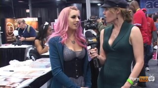 At pornhubtv  interview belle lexi exxxotica new 2012