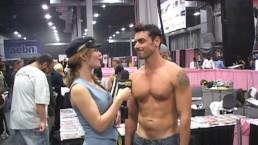 PornhubTV Ryan Driller Interview at eXXXotica 2012