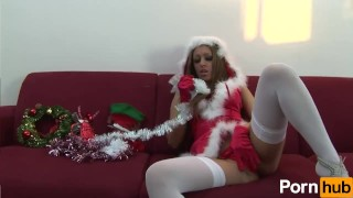 The sexiest Mrs. Claus ever!