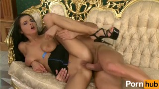 Magnificent with titties girl russian pussy blowjob