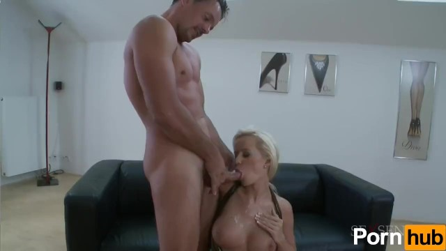 Blonde Bombshell Does Rough Anal - 16
