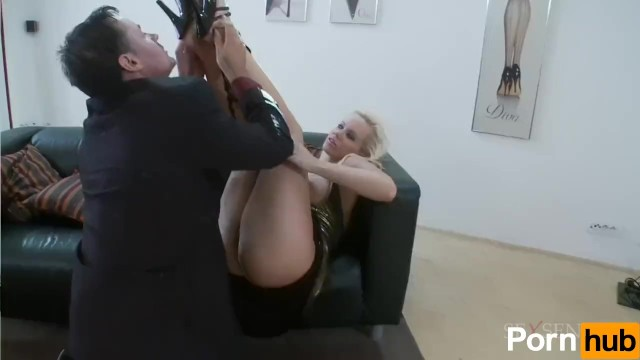 Blonde Bombshell Does Rough Anal - 3