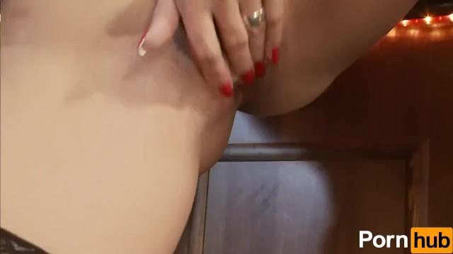 Daria Glower Strips And Fingers Herself - 14