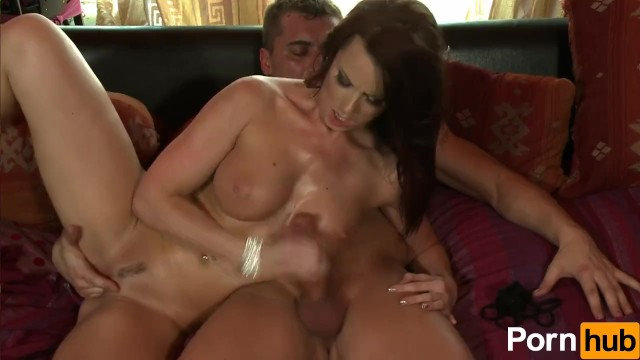 Cindy Dollar Gets Oiled Up And Banged - 16
