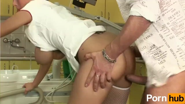Nurse With Big Titties Sucks And Fucks Patient - 12
