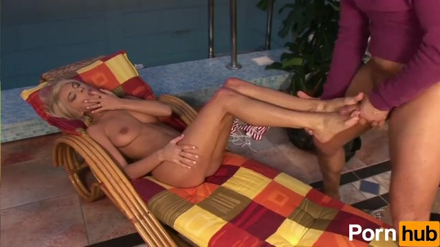 Jasmine Rouge Uses Her Feet To Jack Off A Cock - 15