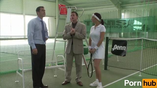Tennis Slut Gets Plowed - 1