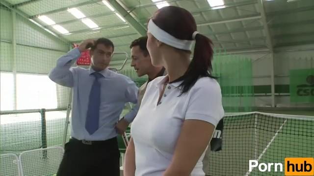 Tennis Slut Gets Plowed - 2