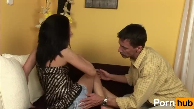Giving The Man A Foot-Job - 2