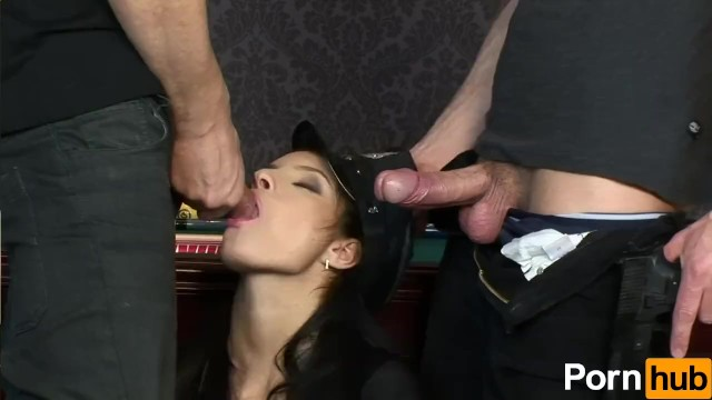 Lucy Belle Takes Two Cocks At Once - 2