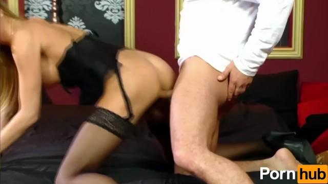 Slut In Lingerie Does Anal - 7