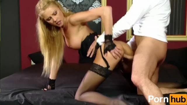 Slut In Lingerie Does Anal - 8