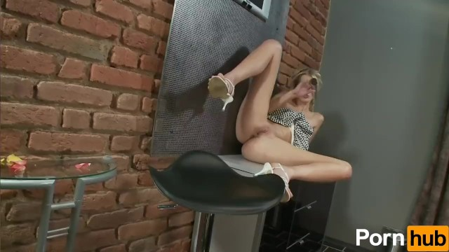 Mia Hilton Plays With Dildo - 13