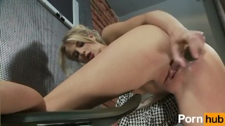 Mia Hilton Plays With Dildo