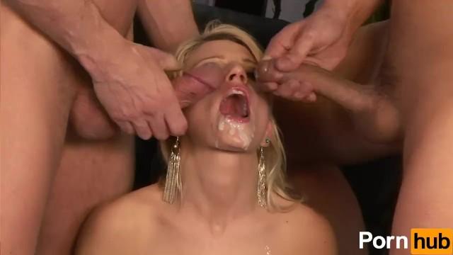 Niki Cole Sucks And Fucks Two Big Cocks - 16