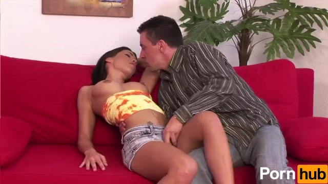 Big Tits Brunette Mya Diamond Is Hungry For Cock - 1