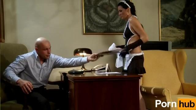 Extremely Hot Maid Fucks Boss - 1